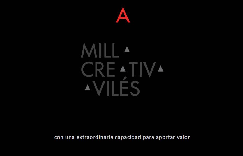 Milla Creativa Avilés. Brand Concept