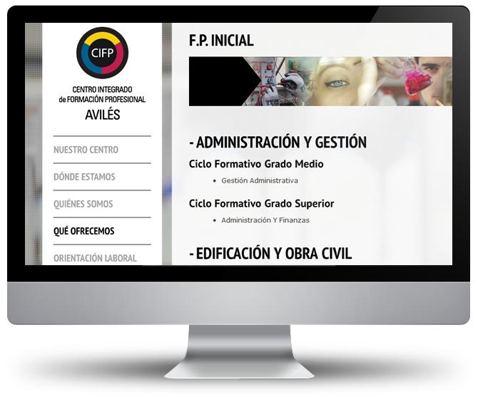 Web CIFP Avilés