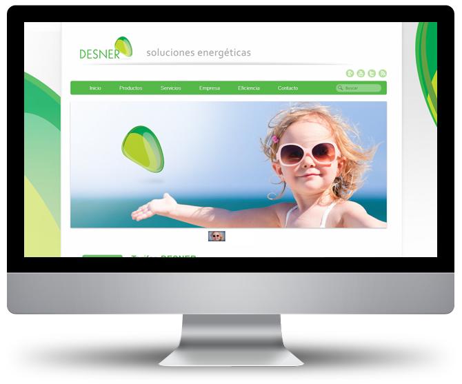 Web Desner. Sistemas energéticos